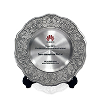 Huawei's 2016 Best Collaboration Partner Award and Core Partner Award
