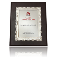 2017 Huawei Best Quality Team Award – Mobile and IDP Product Teams