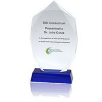 2018 SOI Industry Consortium Award – Lifetime Contributions to Development of RF SOI Technology, Dr. Julio Costa