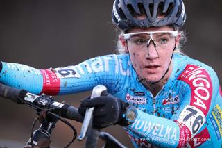 Professional female cyclist, Alicia Franck
