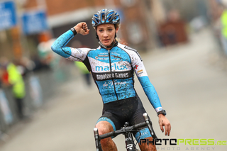 Professional cyclist Alicia Franck