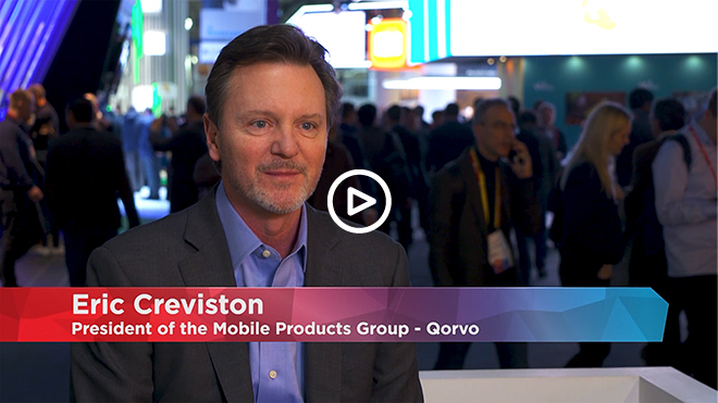 Eric Creviston discusses the future of 5G with Mobile World Live, at MWC 2018