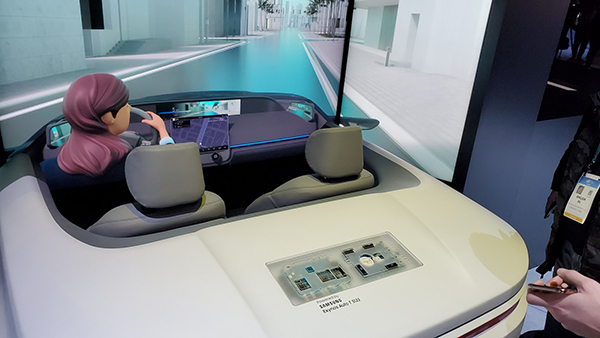 Intelligent, connected car