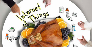 "Giving Thanks to the ""Internet of Thingsgiving"""