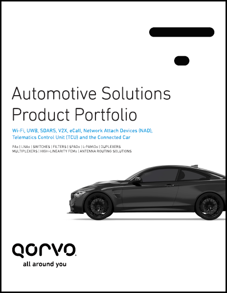 Qorvo Automotive Solutions Brochure