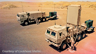 Q-53 Counterfire Radar System for the U.S. Army; image courtesy of Lockheed Martin