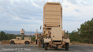 Q-53 Counterfire Radar System for the U.S. Army; image courtesy of U.S. Army