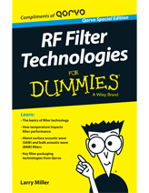 RF Filters For Dummies® Volume 1