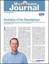 Evolution of the Smartphone - Microwave Journal, Feb. 2017