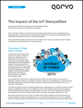 The Impact of the IoT Demystified
