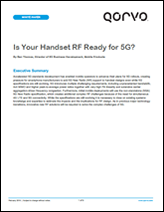 Is Your Handset RF Ready for 5G
