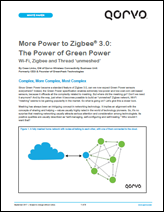 The Power of Green Power - Qorvo White Paper