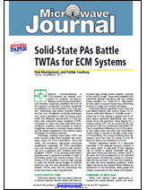 Solid-State PAs Battle TWTAs for ECM Systems