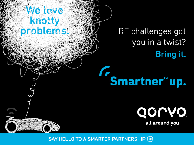 Qorvo is the Smartner™ choice for all things RF.