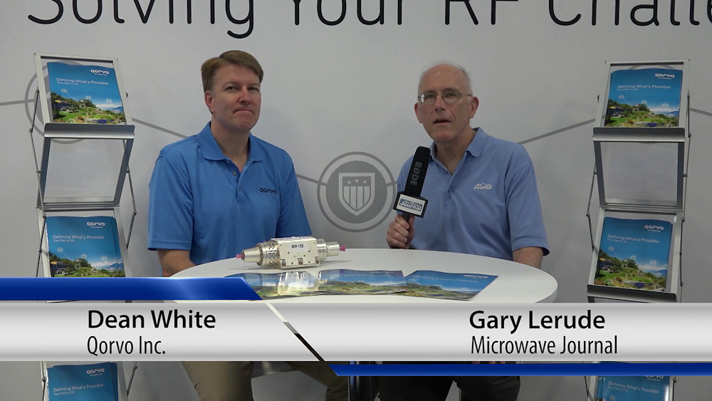 IMS 2017 Dean White Interview with Microwave Journal
