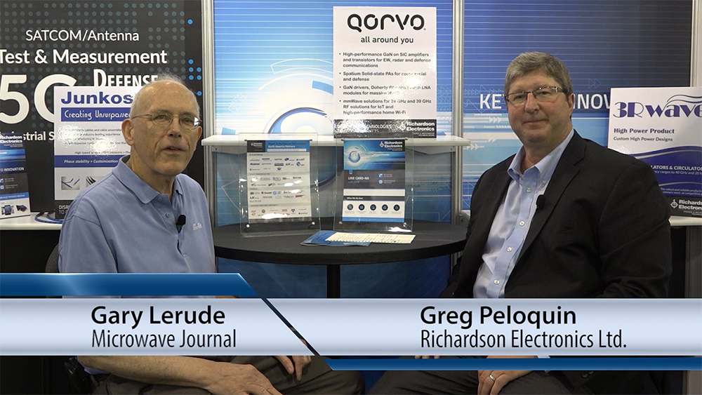 Interview with Richardson Electronics President about Qorvo GaN Products