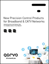 Qorvo Broadband and CATV Control Products Brochure