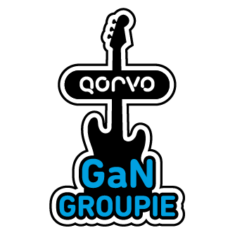 Take the Qorvo RF Challenge, Get a 'GaN Groupie' Pin