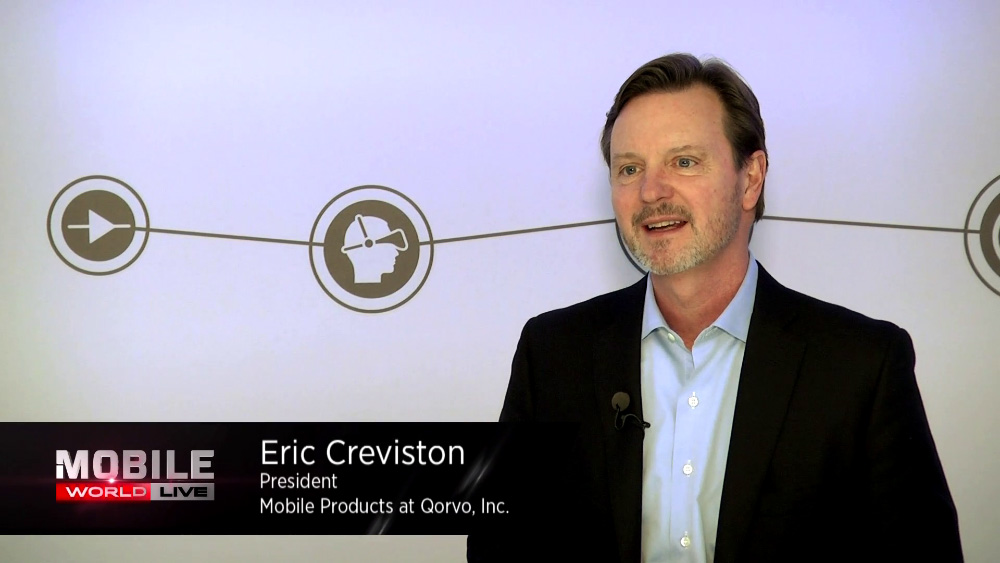 GSMA Interviews Qorvo's Eric Creviston at MWC 2017